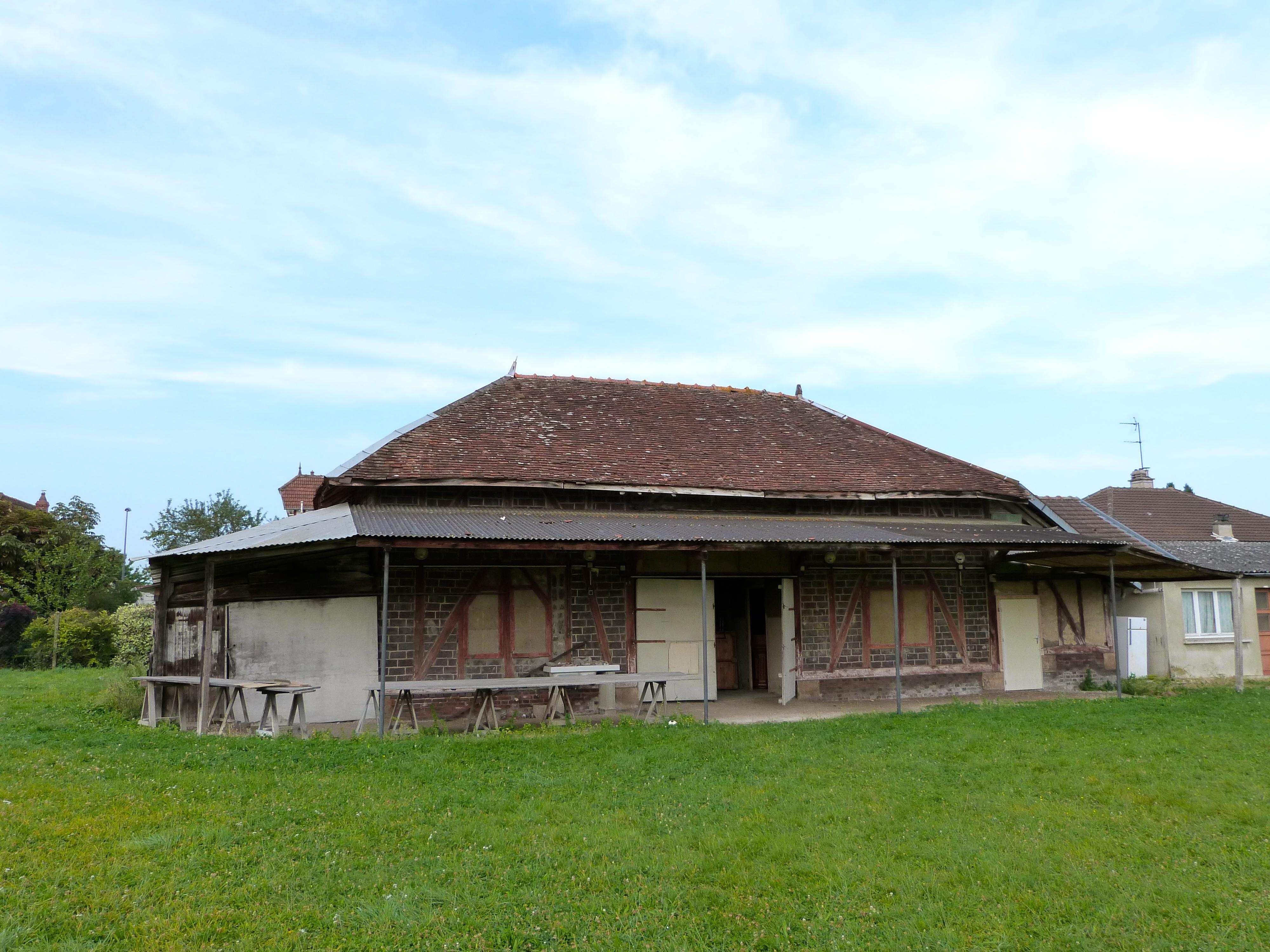 photo de la grange